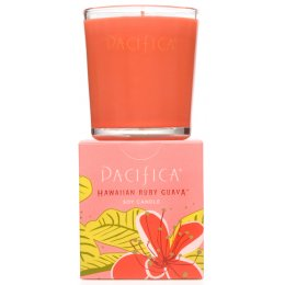 Pacifica Hawaiian Ruby Guava Scented Soy Candle - 160g