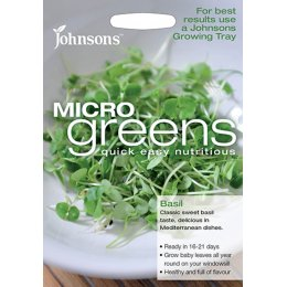 Johnsons Microgreens Seeds - Basil