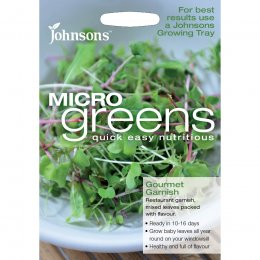 Johnsons Microgreens Seeds - Mixed Leaves