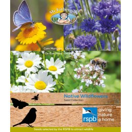 Mr Fothergills RSPB Seed Mix - Native Wildflowers Collection