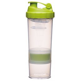 Kitchen Craft Protein Shaker Bottle - 575ml