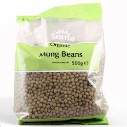 Suma Prepacks Organic Mung Beans - 500g