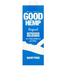 Good Hemp Dairy Free Milk Drink - Original - 1L