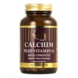 Vega Calcium Plus Vitamin D High Strength Supplement - 30 Tablets