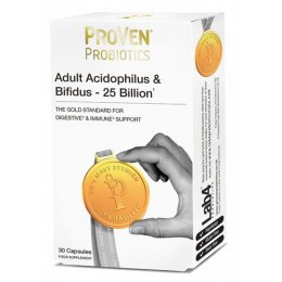 Vega ProVen Adult Probiotic Acidophilus & BIfidus - 25 Billion - 30 Capsules