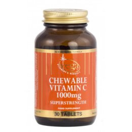 Vega Chewable Vitamin C 1000mg - 30 Tablets