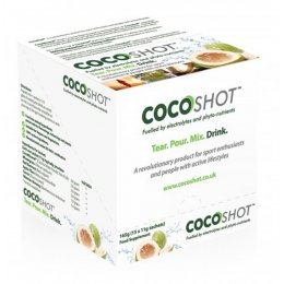 Coastal Earth Cocoshot Natural Electrolyte & Phyto-Nutrient Drink - Sachets 15x11g