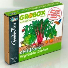 Childrens Vegetable Garden GroBox