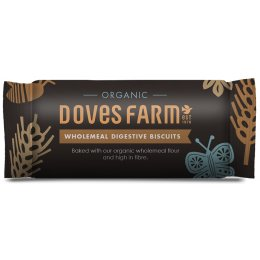 Doves Farm Organic Wholemeal Digestive Biscuits - 200g