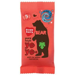 Yoyo Pure Fruit Rolls - Strawberry - 20g