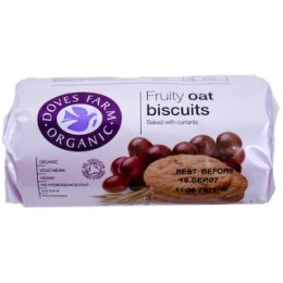 Doves Farm Fruity Oat Digestives - 200g