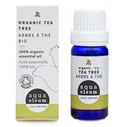 Aqua Oleum Organic Tea Tree Essential Oil - 10ml