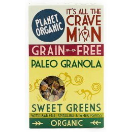 Planet Organic Paleo Sweet Greens Granola - 350g