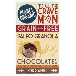 Planet Organic Paleo Chocolate Bliss Granola - 350g