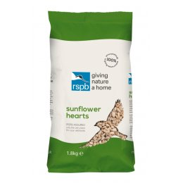 RSPB Sunflower Hearts Bird Food - 1.8kg