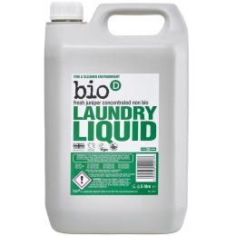 Bio D Concentrated Non-Bio Laundry Liquid - Fresh Juniper - 5L - 125 Washes