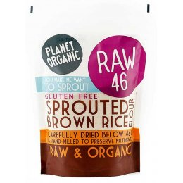 Planet Organic Sprouted Brown Rice Flour 400g