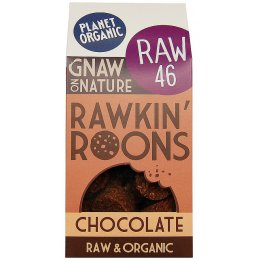 Planet Organic Chocolate Rawkin Roons 90g