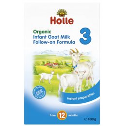 Holle Organic Goat Milk Follow on Formula 3 - 400g