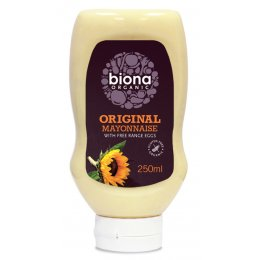 Biona Organic Original Squeezy Mayonnaise - 250g