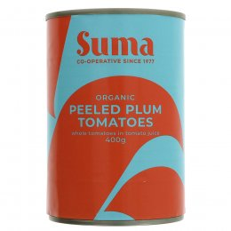 Suma Peeled Whole Organic Tomatoes - 400g