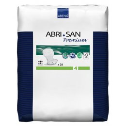 Abri-San Premium Incontinence Pads -For Light To Moderate Incontinence - Size 4