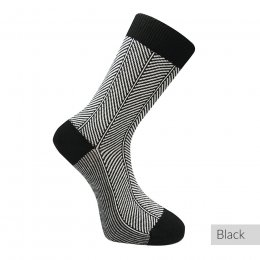 Komodo Herringbone Organic Cotton Socks