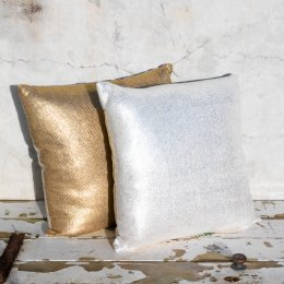 Saint-Malo Large Cushion Cover - Silver