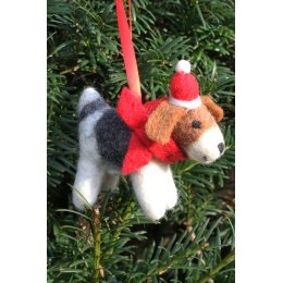 Hanging Christmas Tree Decoration - Colin Dog