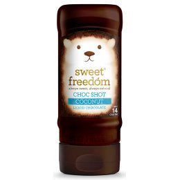 Sweet Freedom Choc Shot Liquid Chocolate - Coconut - 320g
