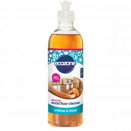 Ecozone Wood Floor Cleaner - Almond - 500ml