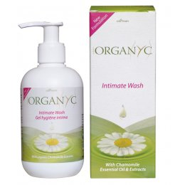 Organyc Intimate Wash with Chamomile 250ml