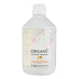 Organii Aloe Mouthwash - Citrus - 500ml