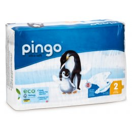 Pingo Ecological Disposable Nappies - Mini - Size 2 - Pack of 42