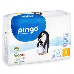 Pingo Ecological Disposable Nappies - Size 2 Mini - Pack of 42