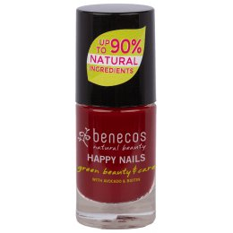 Benecos Nail Polish - Cherry Red - 5ml