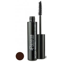 Benecos Natural Mascara - Maximum Volume - Smooth Brown - 8ml