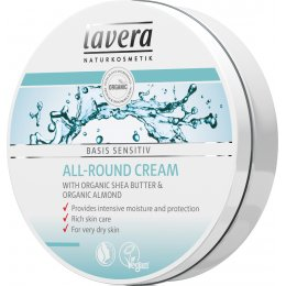 Lavera Basis Sensitiv Organic All Round Cream - 150ml