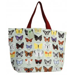 Large Butterfly Shopper Bag