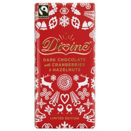 Limited Edition Dark Chocolate with Cranberries & Hazelnuts - 100g
