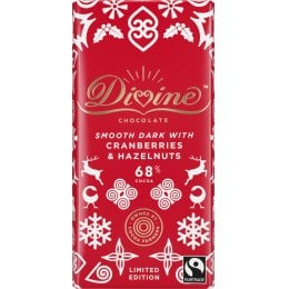 Limited Edition Dark Chocolate with Cranberries & Hazelnuts - 90g