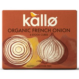 Kallo French Onion Stock Cubes - 66g