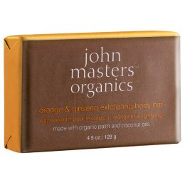 John Masters Organics Orange & Ginseng Exfoliating Body Bar - 128g