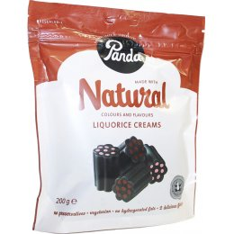 Panda All Liquorice Creams - 200g
