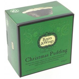 Roots & Wings Organic Christmas Pudding - 454g