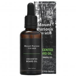 Mount Purious for Men Unscented Beard Oil - 50ml