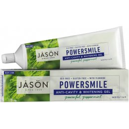 Jason Powersmile Whitening Anti-Cavity Toothgel with Fluoride - Peppermint - 170g