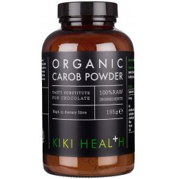Kiki Health Organic Raw Carob Powder -185g
