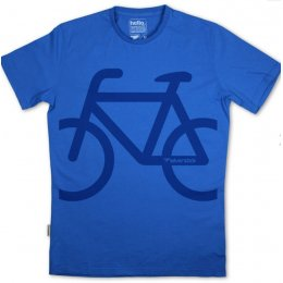 Silverstick Mens Bike Organic Cotton T-Shirt