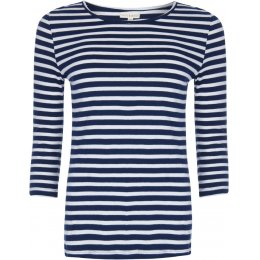 Mudd & Water Sure Thing Top - Navy Stripe